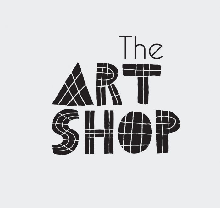 The Art Shop logo in black and white