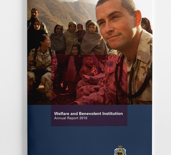 Welfare and Benevolent Institution Annual report Cover