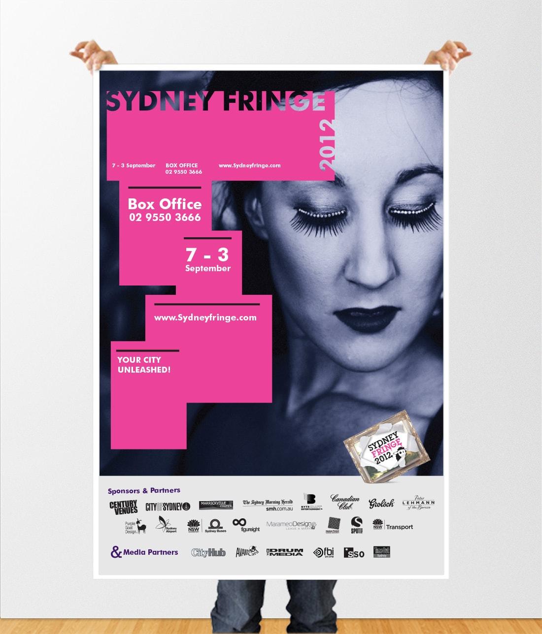 Concept for Sydney Fringe 2012 Poster