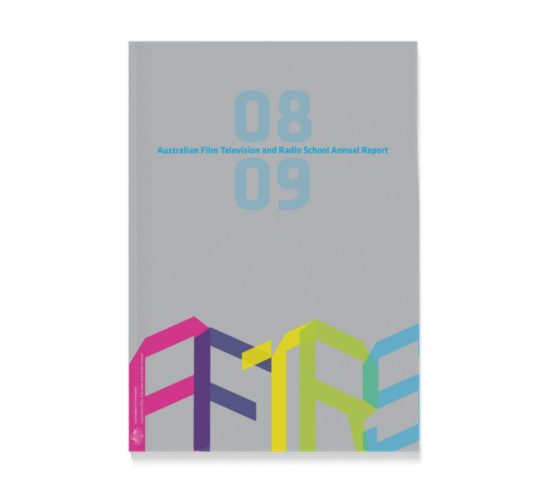 AFTRS Annual Report Cover image