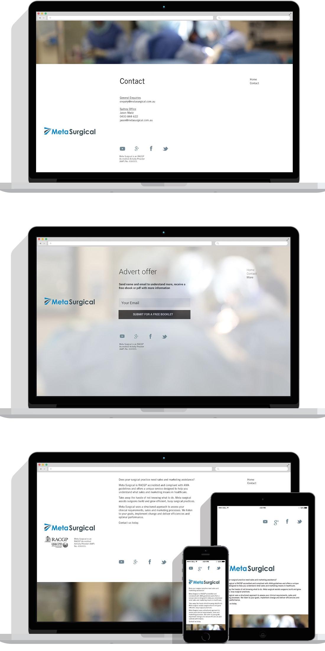 MetaSurgical website